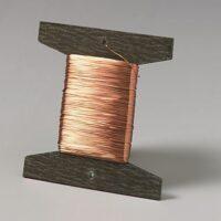 Kobbertråd 0,25 mm, isoleret