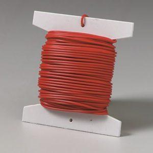 Kobbertråd 0,5 mm, uisoleret