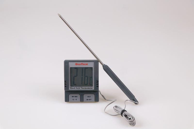 Termometer digitalt, -50-200 grader