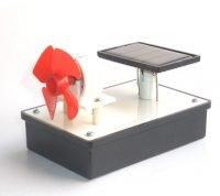 Solcelle og motor