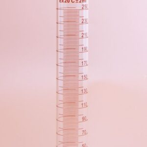Målecylinder 250 ml med hældetud