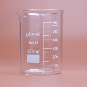 Bøgerglas 600 ml (8 stk.)