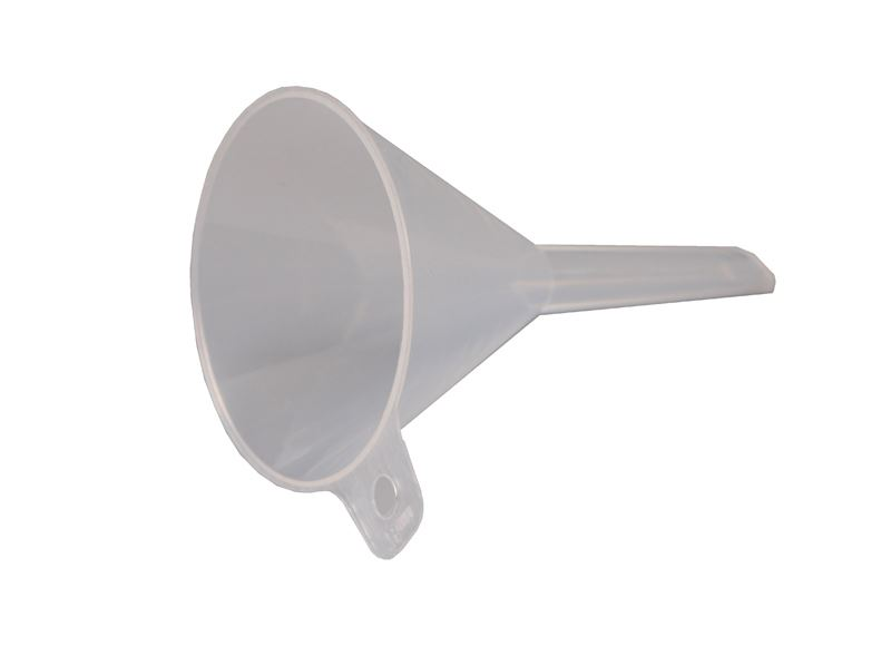 Tragt i plast, 75 mm (10 stk)