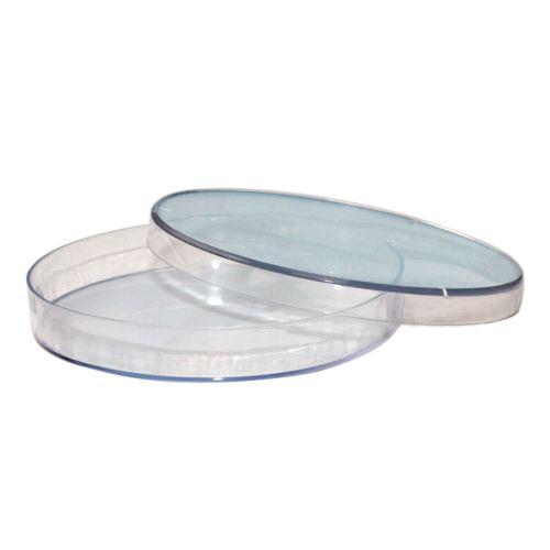 Petriskål, plast, Ø60 mm (10 stk)