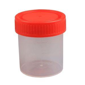 Plastboks med skruelåg, 30 ml (100 stk)