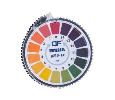 pH-papir 0-14, rulle