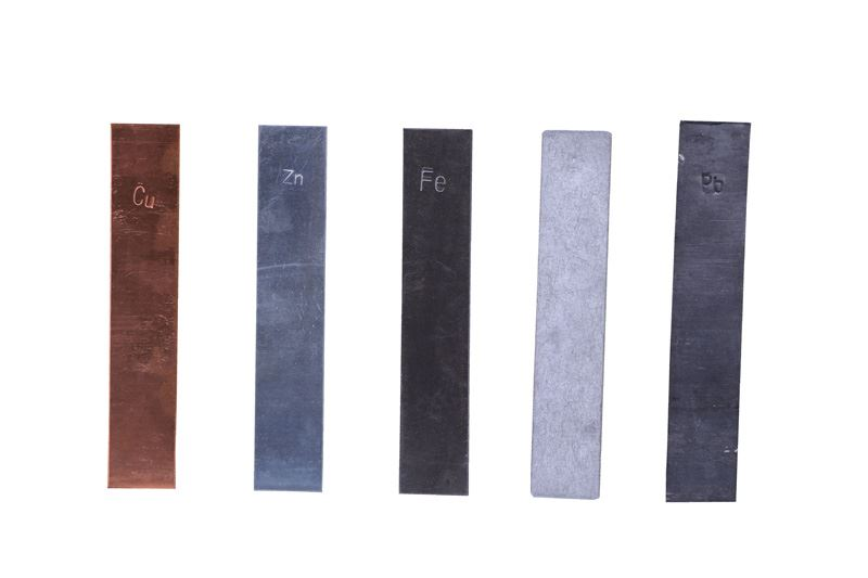 Pladeelektrode aluminium (10 stk.)