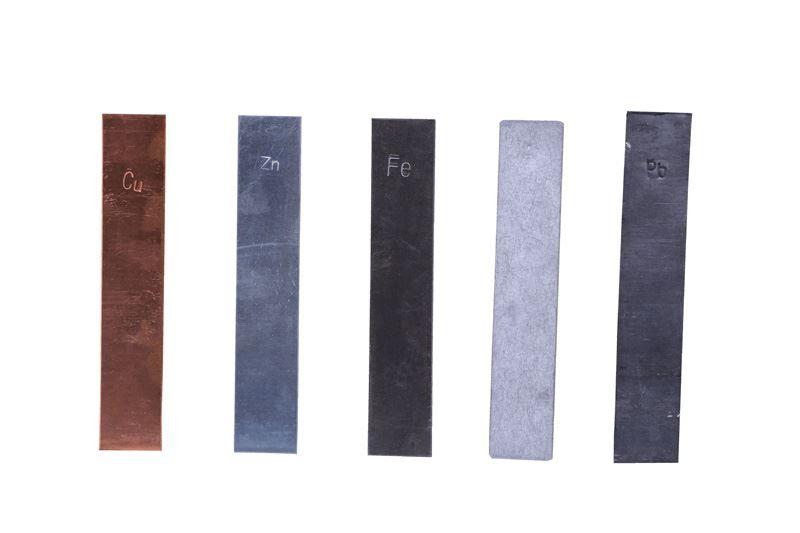 Pladeelektrode kobber (10 stk.)