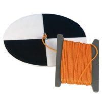 Sigteskive (secchiskive) m/ line