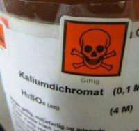 DSD/DPD mærkning, der forlængst burde være udskiftet med labels i henhold til CLP-forordningens krav